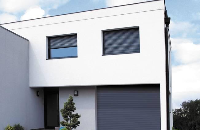 installation de volets roulants motoris s connect s vente et installation menuiserie alu et. Black Bedroom Furniture Sets. Home Design Ideas